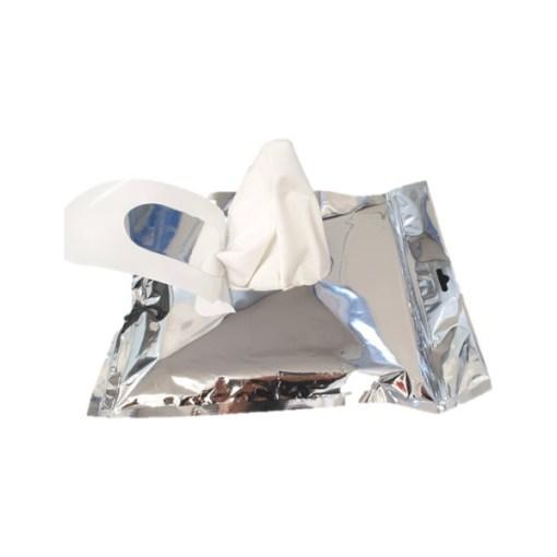 Lingette Hydroalcoolique industrielle virucide et non corrosive Acusat 65 IPA PRO (x 50)