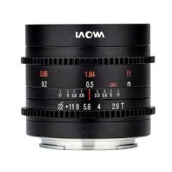 Laowa 9mm T2.9 Zero-D Cine (Micro 4/3) - Objectif