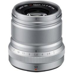 Fujifilm XF 50mm F2 R WR (Silver) - Objectif