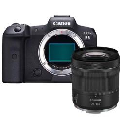Canon EOS R6 avec RF 24-105mm F4-7.1 IS STM - Appareil Photo avec Objectif