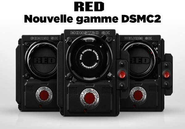 RED Digital Cinéma simplifie sa gamme de caméras DSMC2