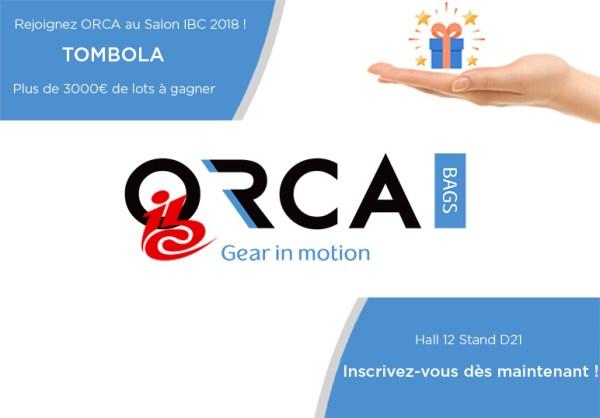 orcabags à l'ibc 2018