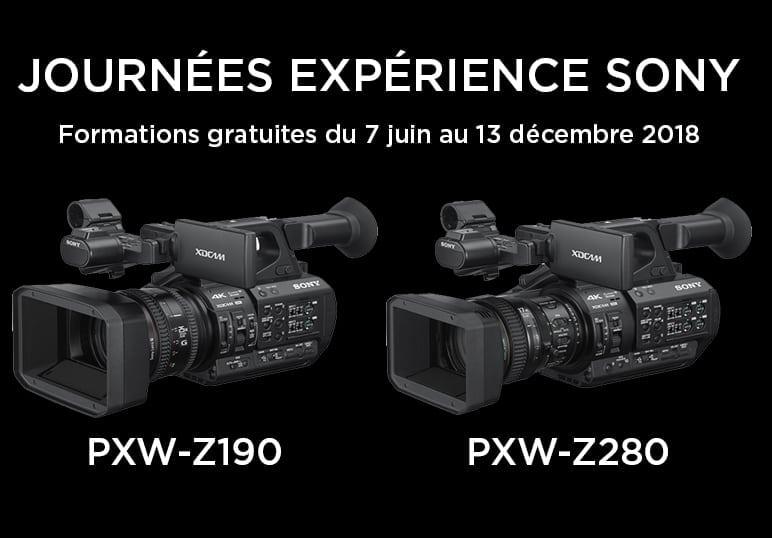 Découvrez les caméscopes PXW-Z280 et PXW-Z190