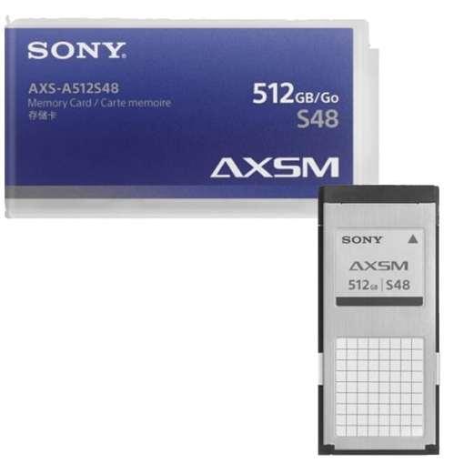 CARTE AXS SONY AXS-A512S48 512 GO