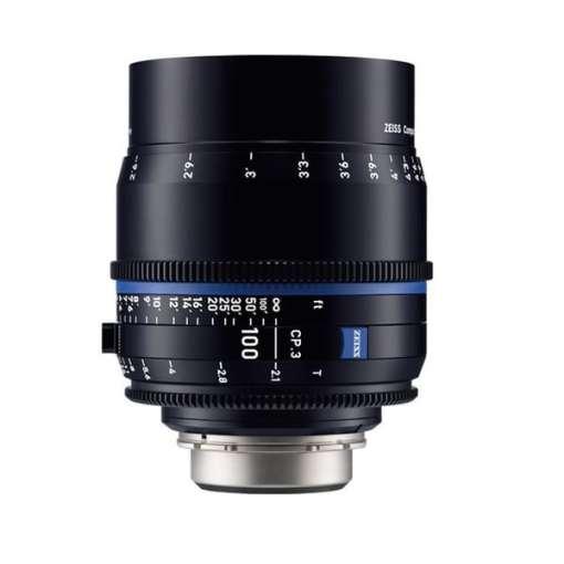 ZEISS CP.3 100mm T2.1 (Nikon F, métrique) - Objectif Prime Cinéma