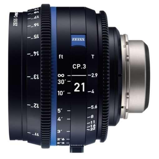 ZEISS CP.3 100mm T2.1 (PL, métrique) XD - Objectif Prime Cinéma