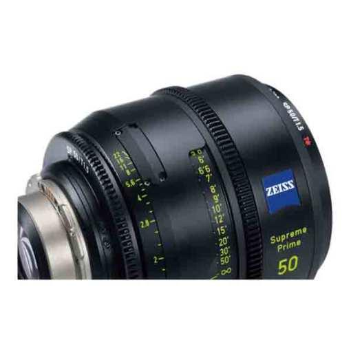 ZEISS Supreme Prime 50mm T1.5 Monture PL Impérial - Objectif Prime