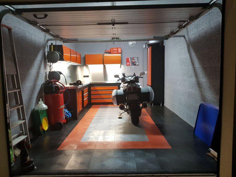 ensemble orange garage moto trm garage
