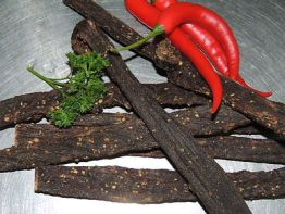 "Biltong  "" Chilly / Chili - Stix""  500 g Packung! 38,- €/Kg"