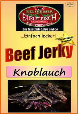 1 Kg Beef Jerky Trockenfleisch Knoblauch Würzung