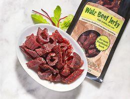 Beef Jerky Pure 10 mal 100gr, 1 kg   ohne Gewürz geschnitten  ohne Glutamat