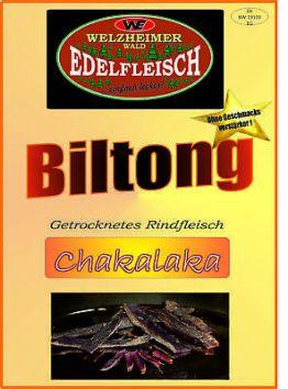 500 Gramm Beef Jerky Biltong Chakalaka Würzung Am Stück / STIX