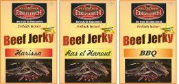 900 Gramm Biltong Trockenfleisch Ras+Harissa+BBQ am Stück / STIX