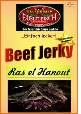 500 Gr Beef Jerky Biltong Trockenfleisch verschiedene Geschmacksrichtungen