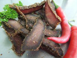 Biltong Chilly 100g Sliced (German-Beef Jerky) 40,- €/Kg