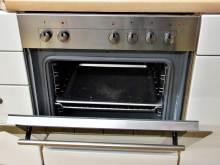 Einbauküche modern weiss Elektroherd Bauknecht
