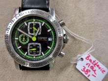 Armbanduhr ESPRIT silbern schwarz
