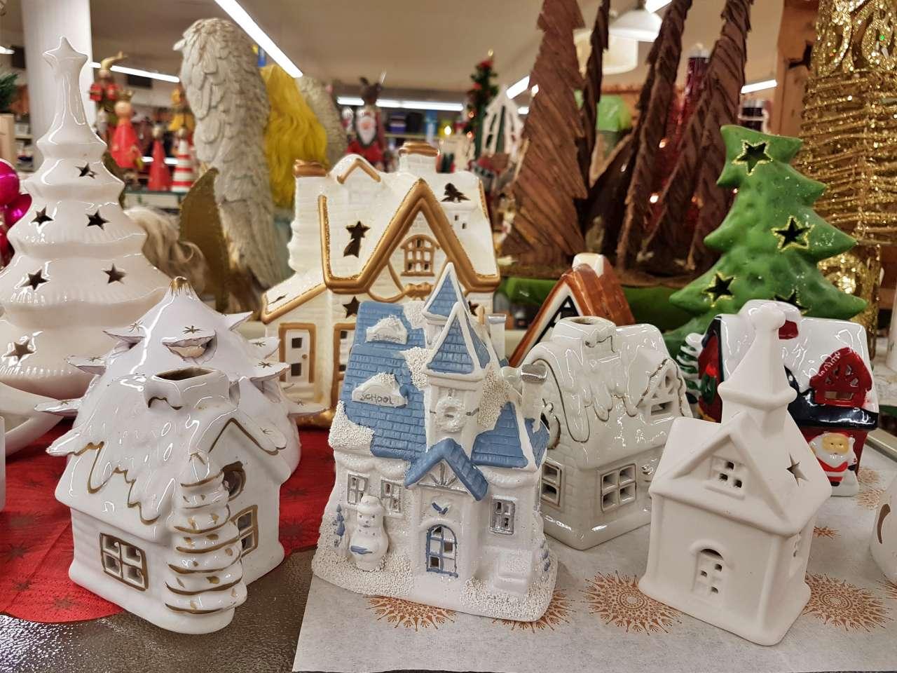 Weihnachtsmarkt 2020 Teelichthalter Weihnachtshäuschen