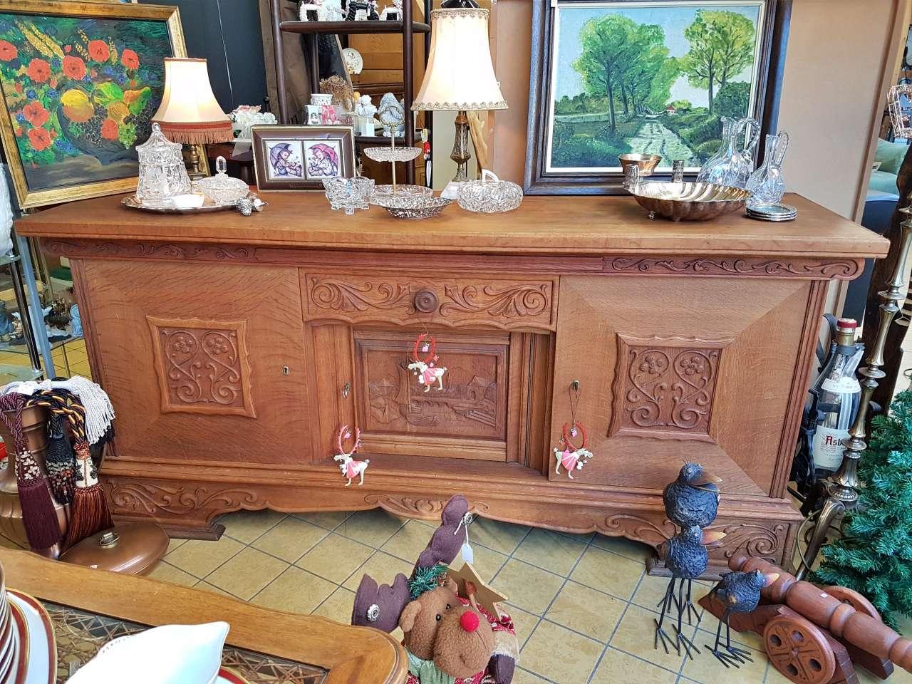 Sideboard Kommode antik Eiche massiv