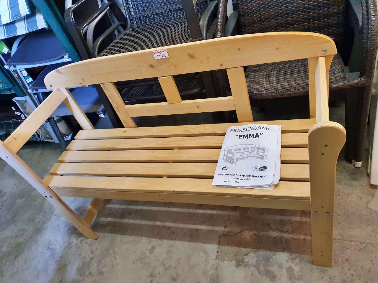 Gartenbank Friesenbank Holz neuwertig