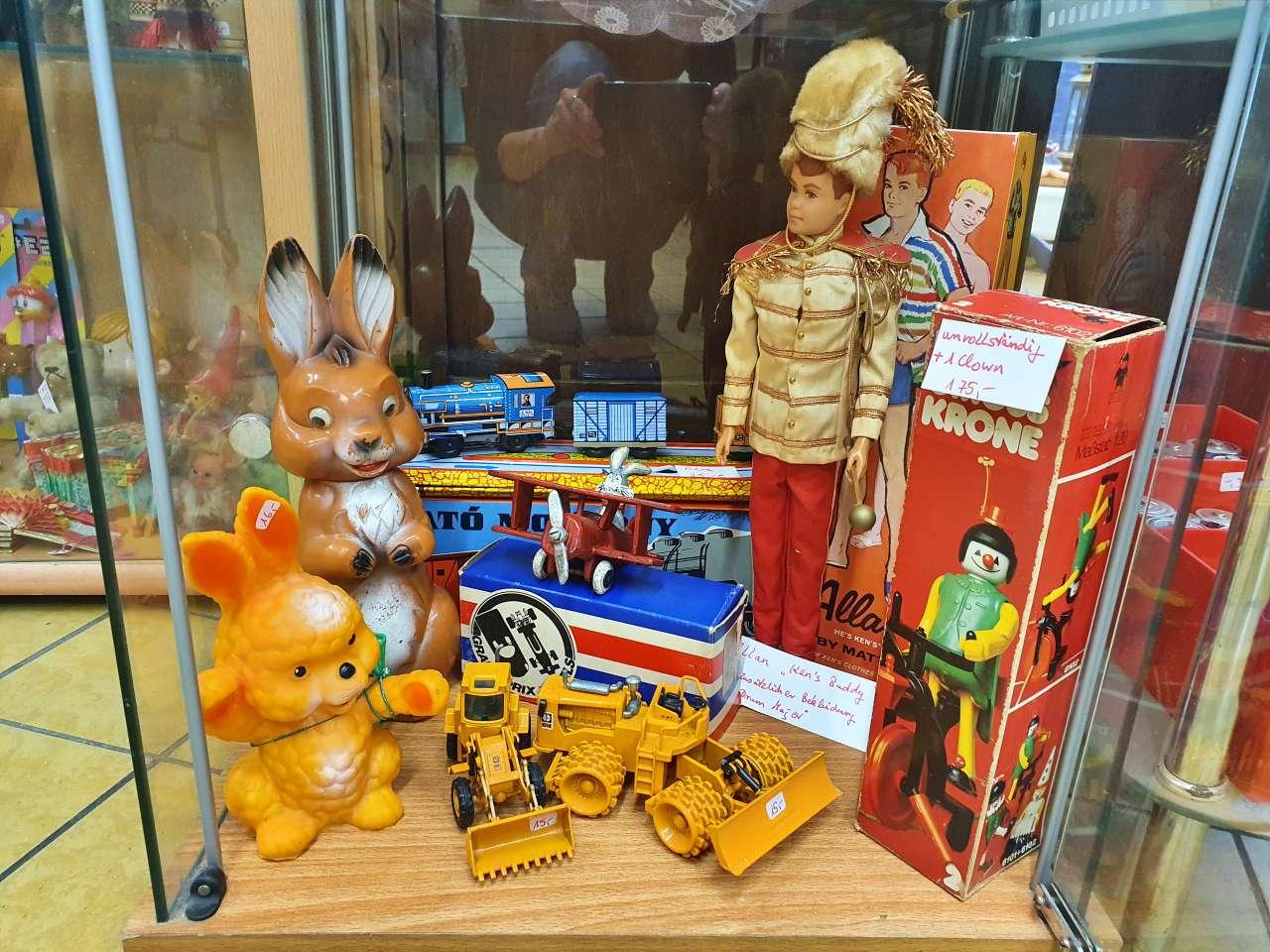 Sammlerstücke Kens Buddy Allan und anderes retro Spielzeug