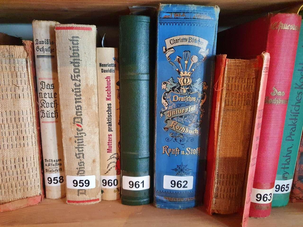 Grosse Sammlung / Konvolut an Kochbüchern 07