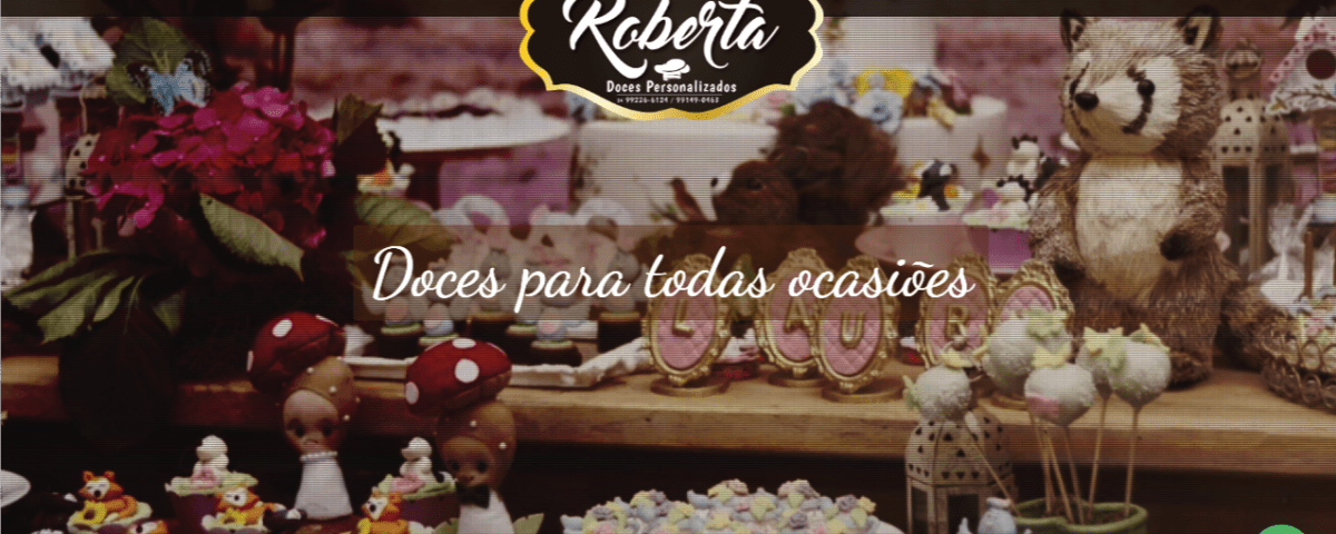 website em wordpress - Doces Personalizados Uberlandia