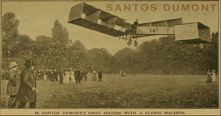 The Story Of The Santos Dumont
