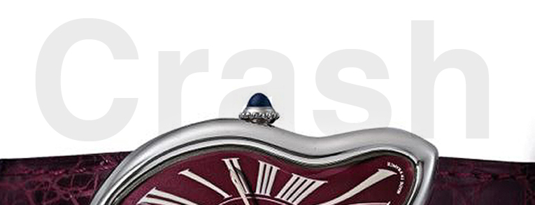 Cartier Crash watch @ Christies First Shanghai Auction, September 26th.