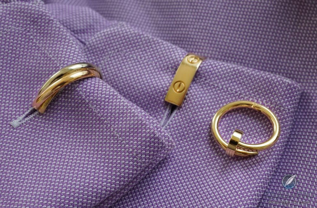 A Sophisticated And Personal Look: Cartier's Cufflinks And Watches