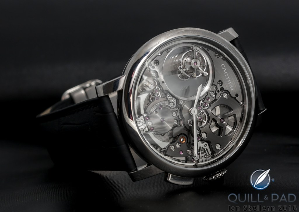 Cartier Minute Repeater Mysterious Double Tourbillon Is The Cat's, Er, Panther's Meow
