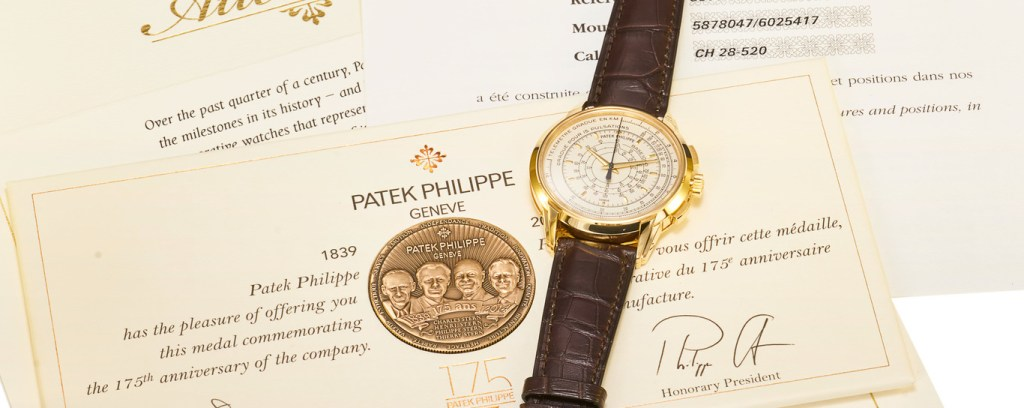Antiquorum Auction: The Gentleman's Choices