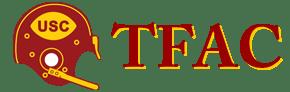 TFAC Helmet Text Logo