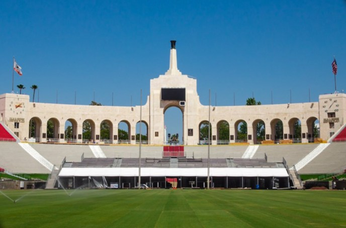 USC Fall Showcase Coliseum