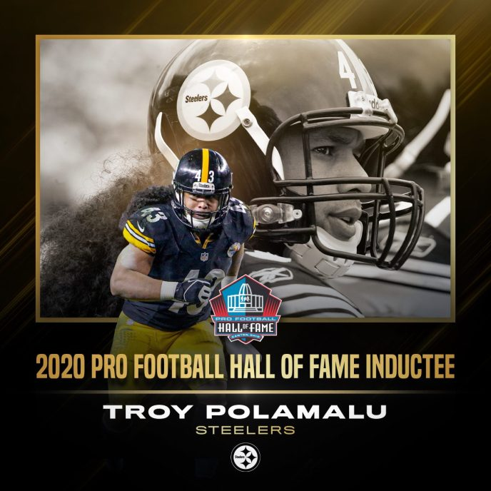 Troy Polamalu NFL Hall of Fame