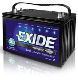 Exide XMC-31 MEGACYCLE 200 Marine Battery Review