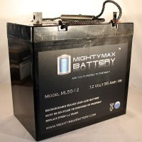 12V 55Ah SLA Battery for Minn Kota Endura Trolling Motor - Mighty Max Battery brand product