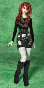 Full-body portrait of the Aiko 6 character