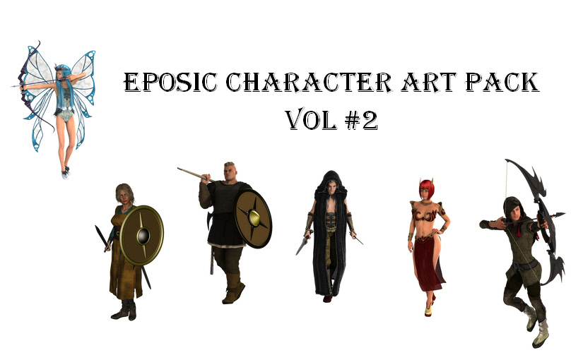 Eposic Character Art Pack Vol. 2