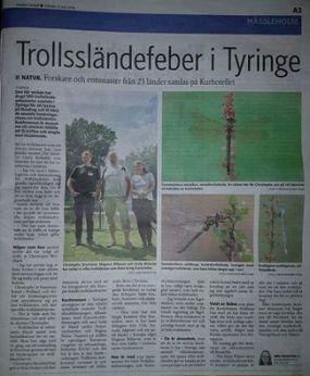 Från Norra Skånes Tidningar.