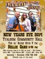 Poster New Years Eve 2014 Gig - Trombone Kellie & the Kellie Gang