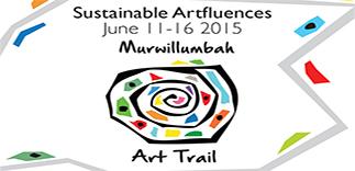 Trombone Kellie & Scrubby Pete at the Sustainable Artfluence 2015