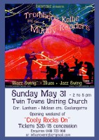 Twin Towns Uniting Church Trombone Kellie & the Muddy Roaders' Gig small