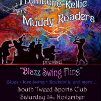 Trombone Kellie & the Muddy Roaders Nov 14 Gig SouthTweed