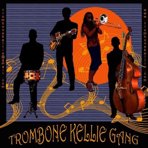 Trombone Kellie Gang Coolangatta Sands Hotel April 16 2017 Easter Sunday