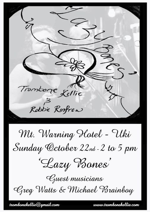 'Lazy Bones' with Trombone Kellie & Robert Renfrew