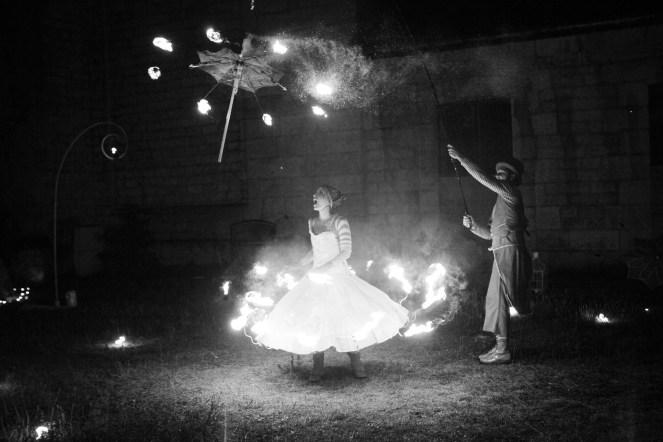Spectacle de la compagnie Attrap'Lune à Montdauphin
