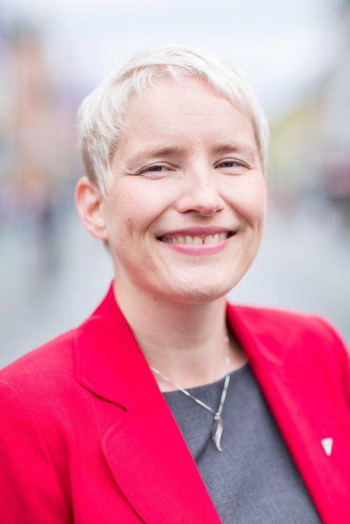 Ingrid Marie Kielland, SVs ordførerkandidat vil sikre tromsømarka for framtida.