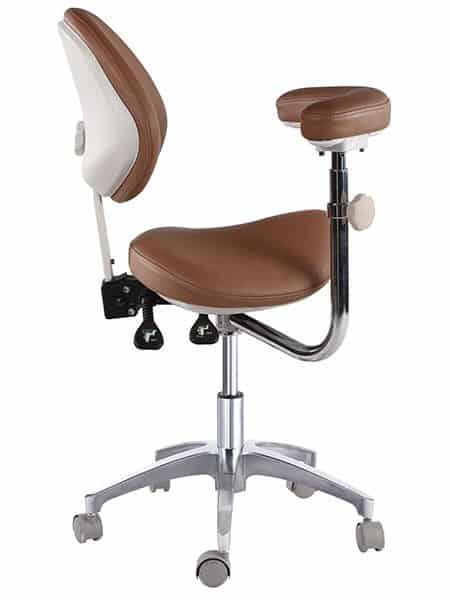 Tronwind Saddle Chair TS08 Dental Stool Ergonomic Chair  sc 1 st  Tronwind Medical Chairs & Ergonomic Saddle Stool with Armrest | Tronwind Medical Chair ... islam-shia.org