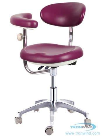 Tronwind ergonomic dental stool with armrest